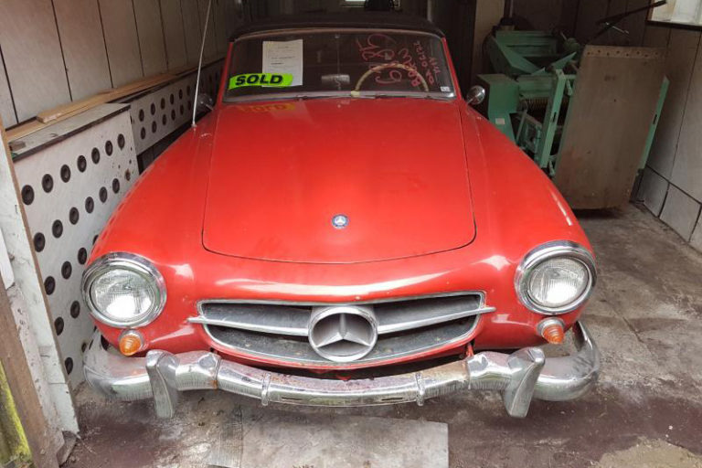 MERCEDES-BENZ 190SL 1214010020757