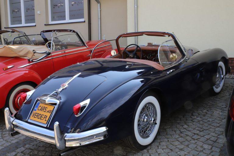 JAGUAR XK150 OTS 1958