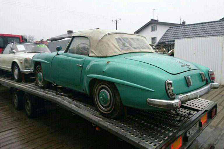 MERCEDES-BENZ 190SL 1210426500253