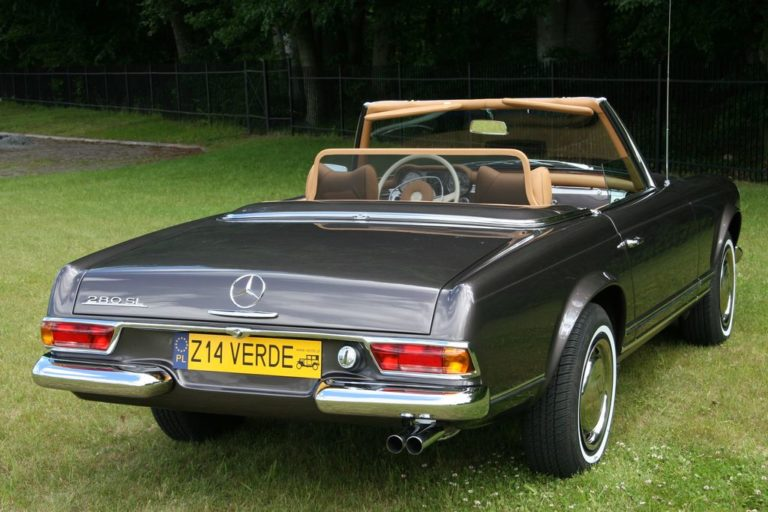 MERCEDES-BENZ 280SL 1971