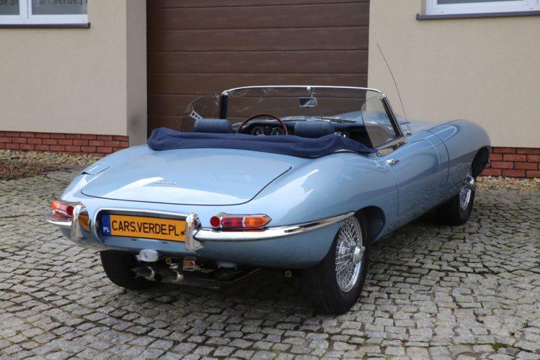 JAGUAR E-type seria I Cabrio 1964