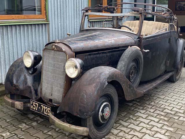 MERCEDES-BENZ W143 1939