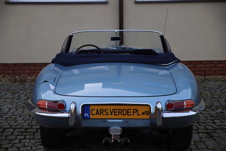 JAGUAR E-type seria I Cabrio VIN 881048